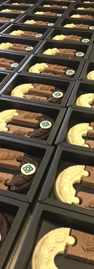chocoladeletter Oerlemans op maat_