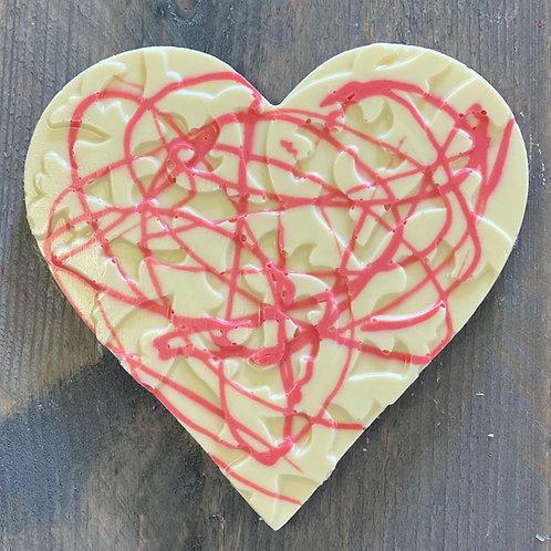 Chocolade hart Spaghetti love