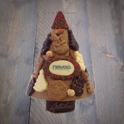 Chocolade kerstboom XXL 650 gram