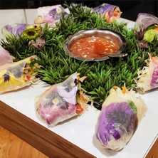 Check out our Fresh Summer Springrolls!