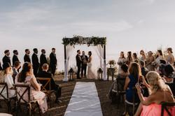 Lauren & Austin Wedding in Clouds