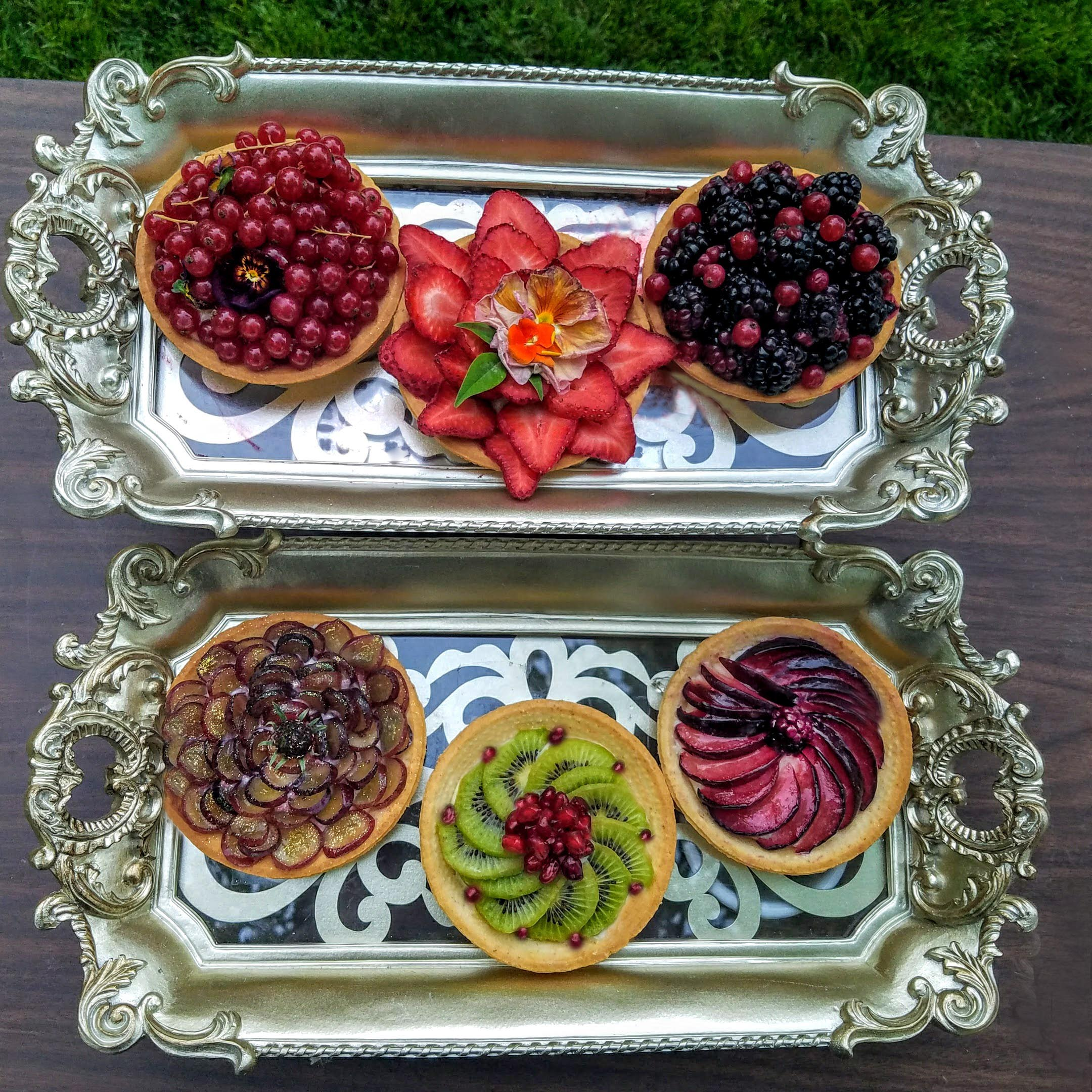 fruit tarts from SB shoot
