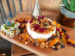 French Brie with dried fruit & nuts
