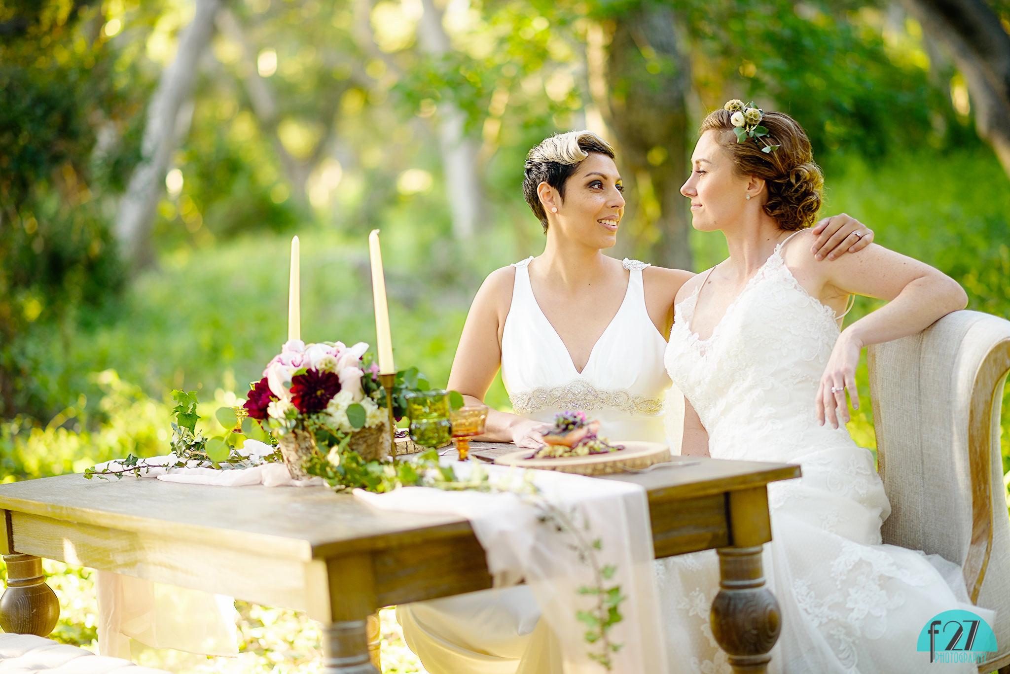 Tina & Joselle's Sweetheart Table