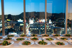 View from Bacon Underground Dinner