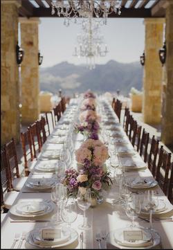 David and Elizabeth Wedding Table