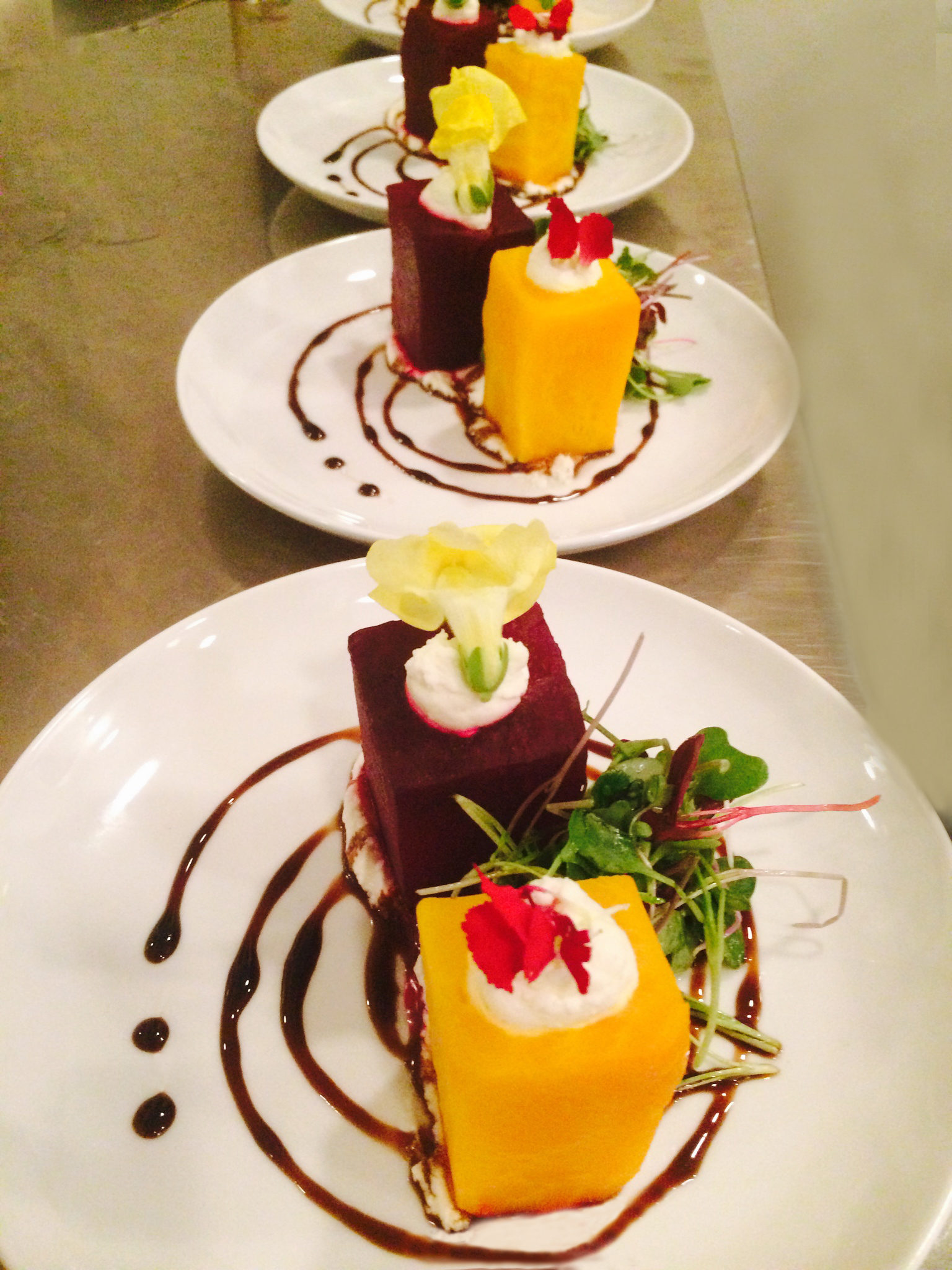 Our Beet Cube Salad