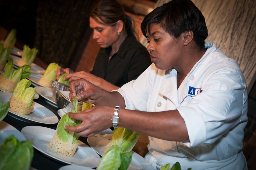 plating ceasar salad valentines dinnner.jpeg