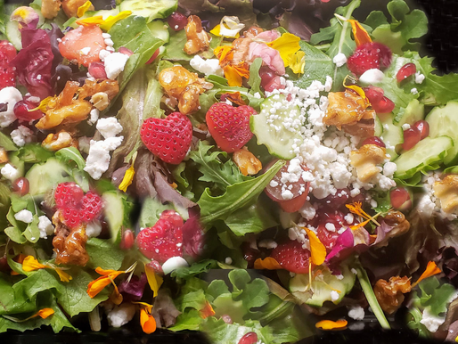 We even put love into our Salads!