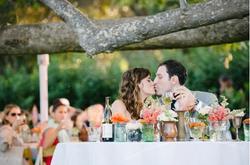 Lauren & David sweetheart table