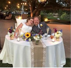 Lisa & Tim sweetheart table