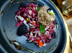 Goat Cheese & Blackberry Salad