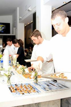 Our kitchen staff hard at work!