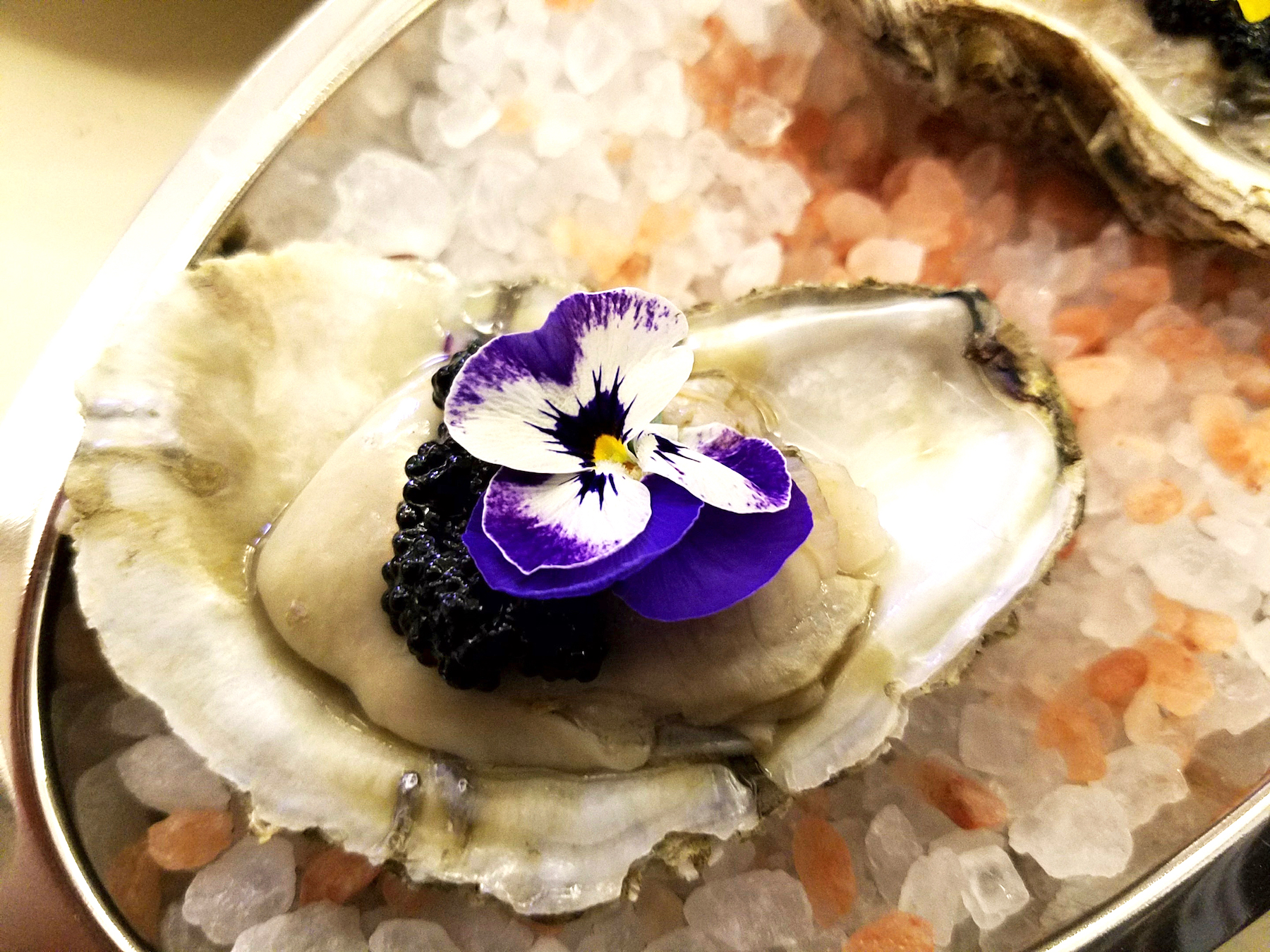 Oysters with Osetra Caviar