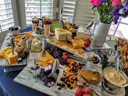 Andrea Sherman Cheese display
