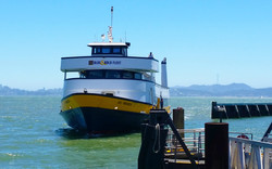 The Blue and Gold Ferry
