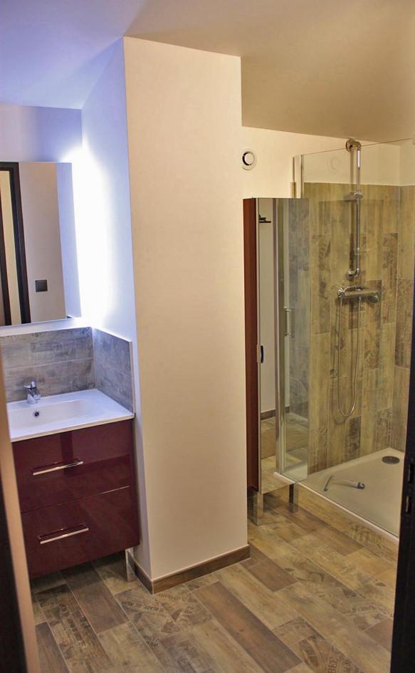 Muriers salle de bain chambre 3/mezza
