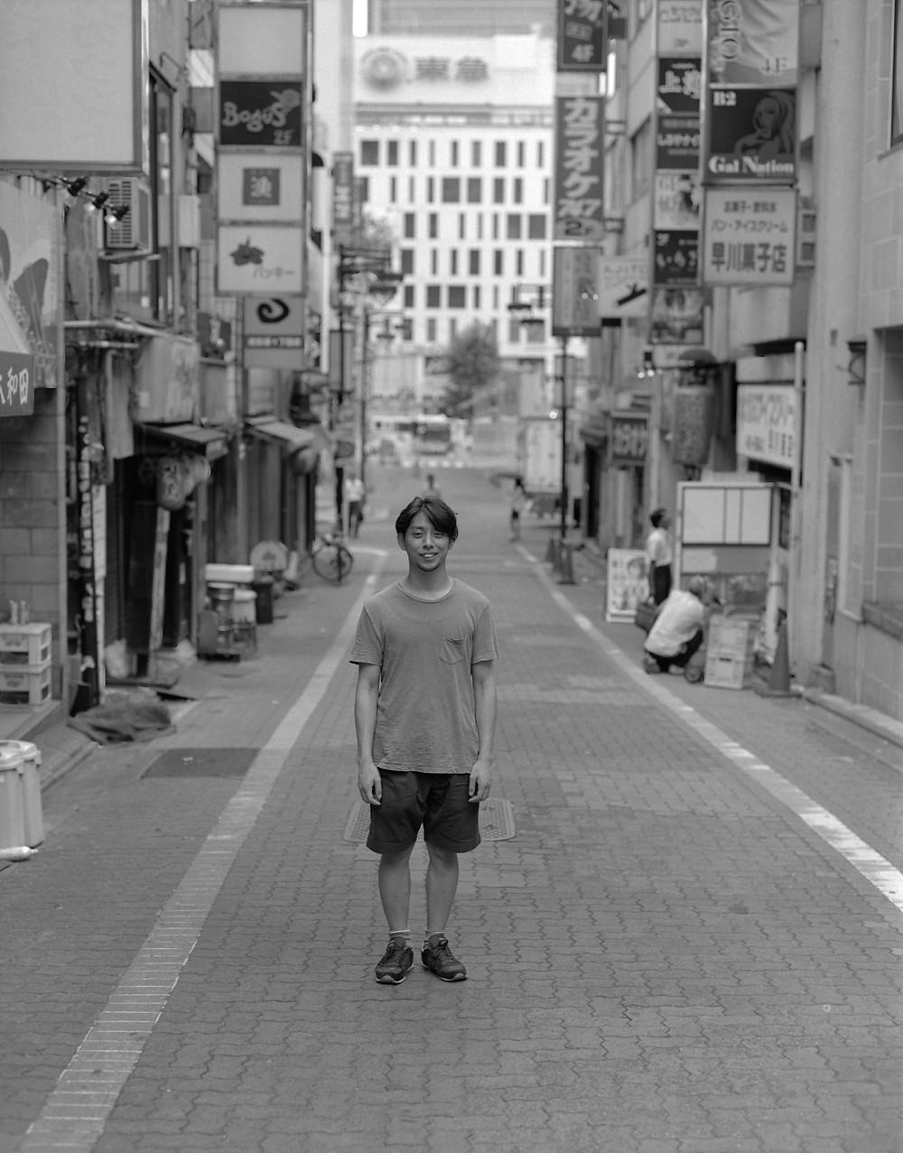 串尾一輝 2016.8.15 ≪吉原洋一『あさしぶ』より≫