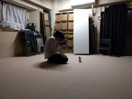 稽古場を観劇する/第一回目10月23日(日)