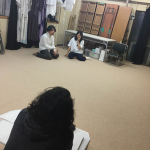 稽古場を観劇する/第三回目10月23日(日)