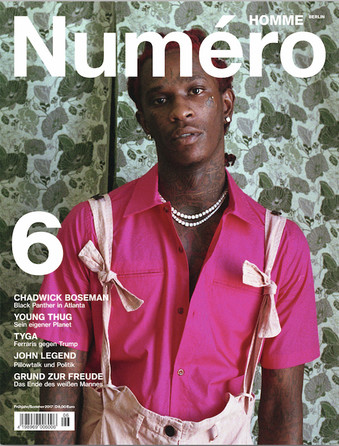 Numero Homme Cover with Young Thug