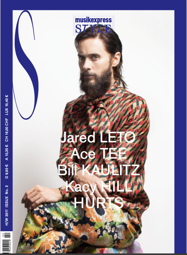 Jared Leto for MusikExpress Style