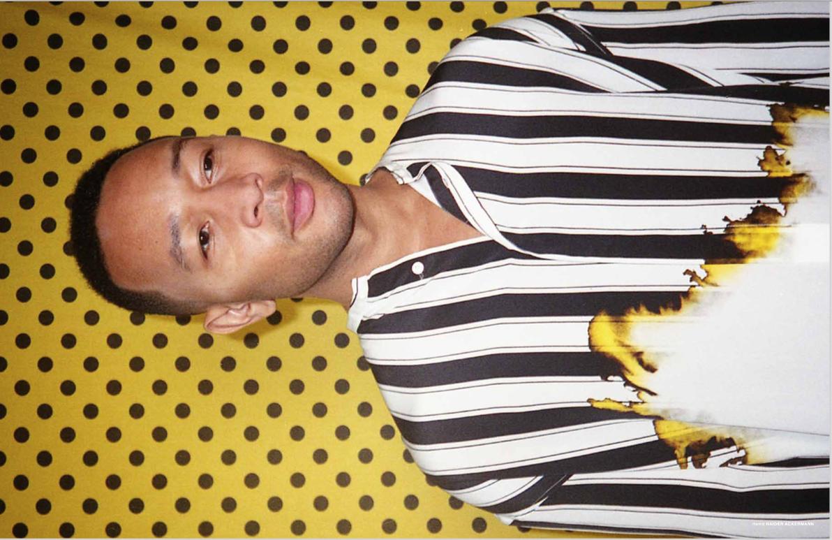 John Legend for Numéro