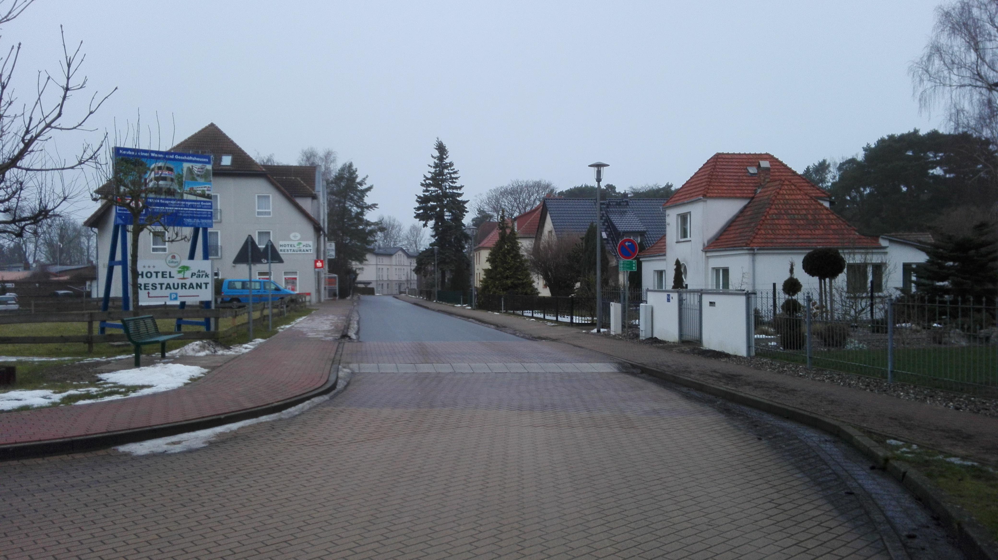 Villenstraße - Dünenstraße, Lubmin