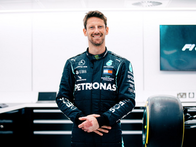 Romain Grosjean to test for Mercedes at the French Grand Prix