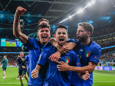 Intense penalty shootout sends Italy to the final of Euro 2020