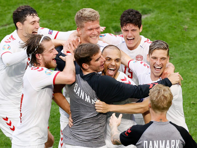 Dominant Denmark oust sheepish Wales