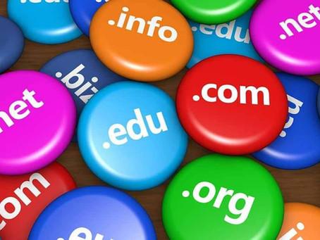 Já escolheu o domínio do seu site?