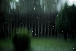 If you follow the rain