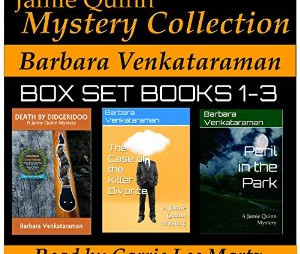 Cozy Mysteries with Klingons - Brad Tate reviews Barbara Venkataraman's latest collection