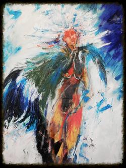 Angel devil (Sold )