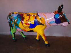 """""""Picowsso """"San Luis Obispo Cow Parde"""
