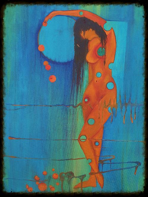 Unpainted dot