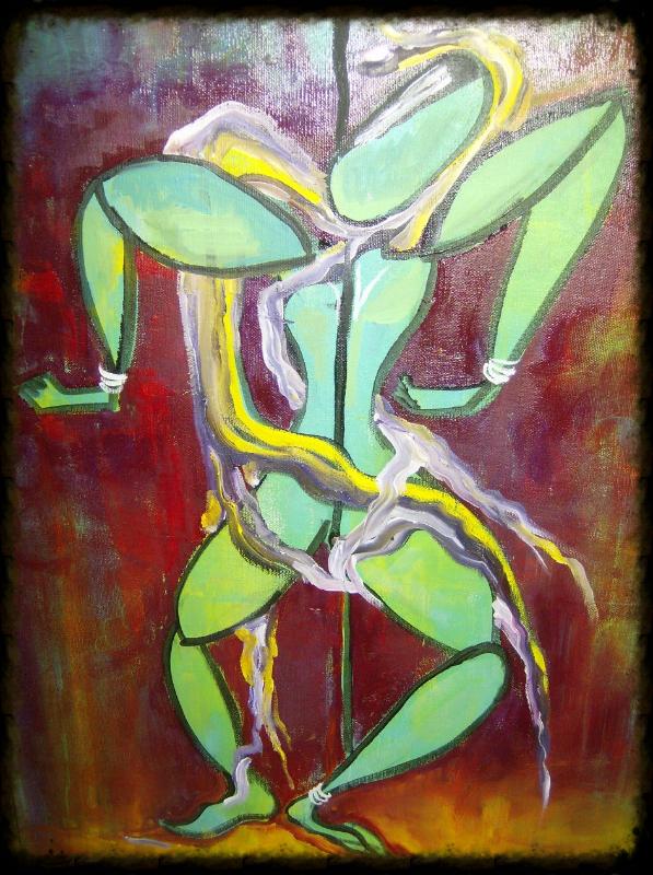 Hanging man (Sold)