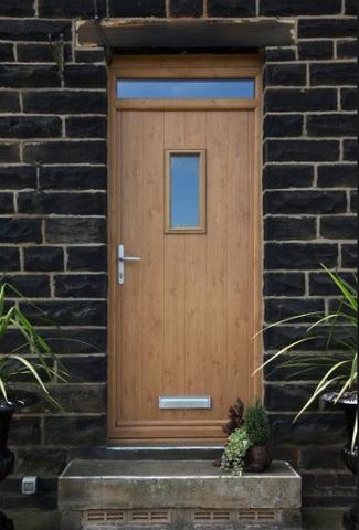 Solidor Composite Door - Traditional Range - Flint