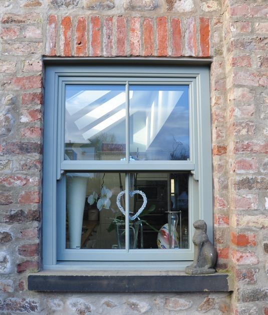 UPVC Sliding Sash Window
