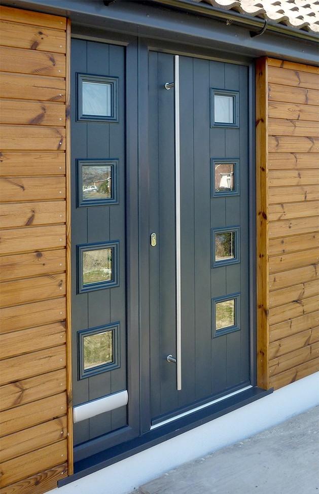 Solidor Composite Door - Italia Range - Milano