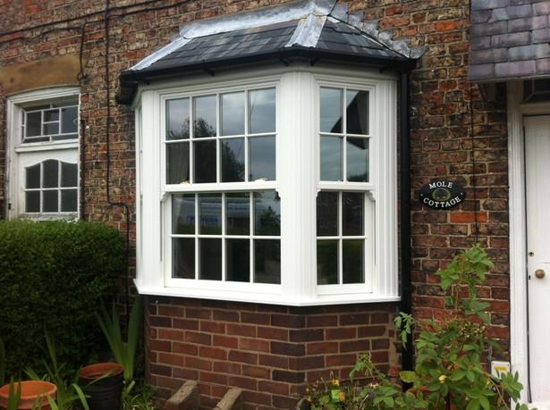 UPVC White Sliding Sash Window