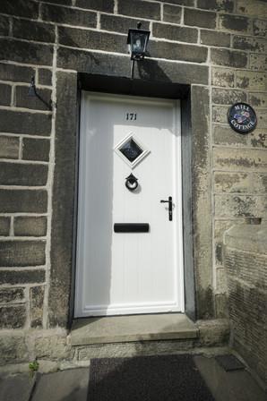 Solidor Composite Door - Flint - White
