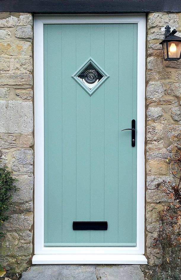Solidor Composite Door - Traditional Range - Flint 1