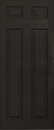 Schwarzbraun Solid