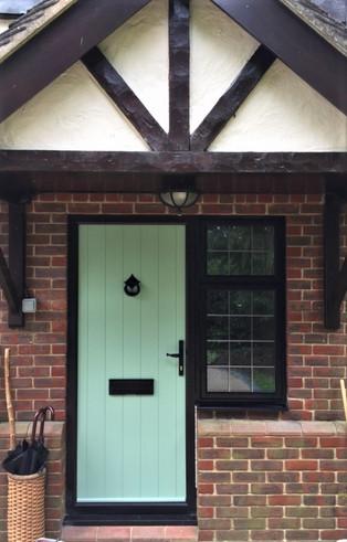Solidor Composite Door - Traditional Range - Flint Solid