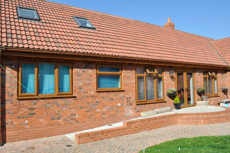 Golden Oak UPVC Windows & French Doors