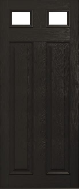 Schwarzbraun Glazed