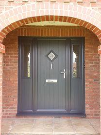 grey composite door yorkshire
