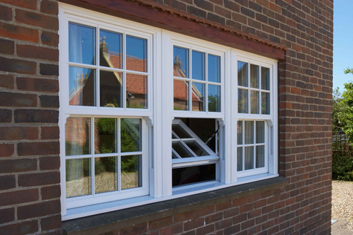 UPVC Sliding Sash Windows